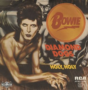 Diamond Dogs 1974 Allemagne