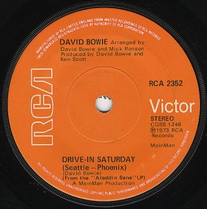Drive-In Saturday (solid centre)