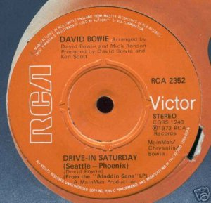 Drive-In Saturday (alternate label)
