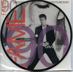 "Fame 90 7"" Royaume-Uni Picture Disc"