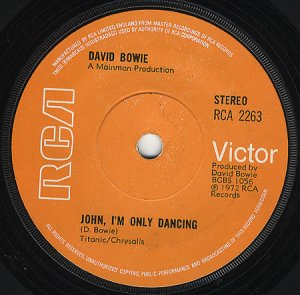John, I Only Dancing Royaume-Uni variante 72 ?