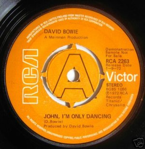 John, I Only Dancing Royaume-Uni Promo