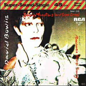 "Scary Monsters 12"" Allemagne"