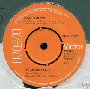 The Jean Genie 1972 Royaume-Uni 2