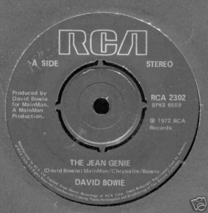 The Jean Genie 1972 Royaume-Uni 4