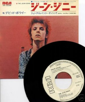 The Jean Genie 1973 Japon Promo 1