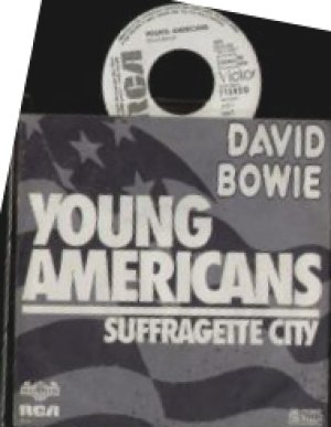 Young Americans 1975 Allemagne Promo