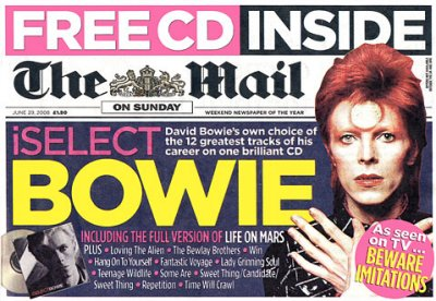 iSelectBowie The Mail On Sunday